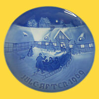 B&G Bing & Grondahl Denmark Porcelain Christmas Plate 1969 (Not Original Box)