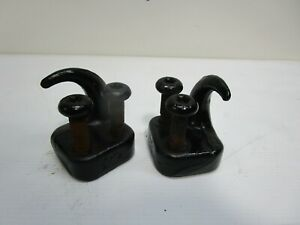 Jeep Wrangler TJ 97-06 Front Tow Hooks Hook Pair Bolts Bumper Fast ship  601