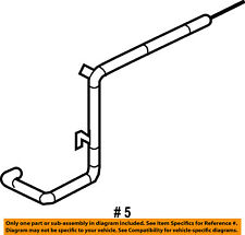 FORD OEM EMISSION SYSTEM-Tube Assembly 6L2Z9E498A