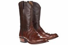 Tecovas - The Austin Men's Cowboy Boots Walnut Alligator Brown 13EE