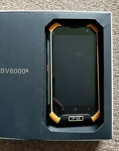 Untested black view BV6000 4G robust mobile phone spares repair rugged IP-68