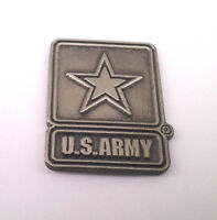 US ARMY  Military Veteran US ARMY PEWTER Hat Pin P14781-2 EE