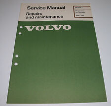 Service Manual Volvo 240 / 260 Suspension and Wheels Werkstatthandbuch März 1977