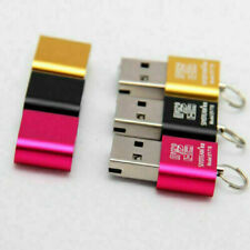 USB Adapter Mini Kartenlesegerät Kartenleser Card Reader Micro SD SDHC T-Flash