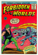 JERRY WEIST ESTATE: FORBIDDEN WORLDS #130 (VG) & 131 (VG) (ACG 1965) NR