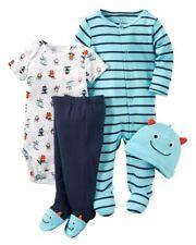 Carter's Baby 4-Piece Monster Sleep & Play, Set, Newborn, Take Me Home (126G407)