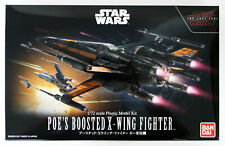 Bandai Star Wars Poe's Boosted X-Wing Fighter The Last Jedi 1/72 Scala Giappone