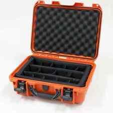 Orange Nanuk 920 Case With Padded Dividers & Pelican TSA- 1450 Lock