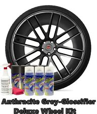 Plasti Dip True Metallic Anthracite Grey Glossifier Deluxe Wheel Kit Spray Can