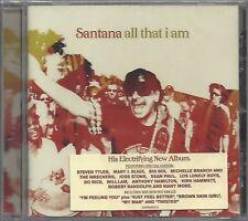 SANTANA / ALL THAT I AM * NEW CD * NEU *