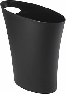 Umbra Skinny Trash Can, Black (082610-040)