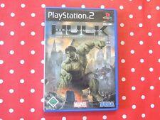 der Unglaubliche Hulk das offizielle Videospiel Playstation 2 PS2 OVP Anleitung