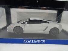Lamborghini Gallardo Lp550-2 Balboni Monocerus White 2009 1 18 74635 Autoart