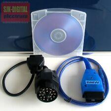 OBD USB K-Line für BMW Diagnose Interface Ediabas NCS expert + 20Pin Adapter +++