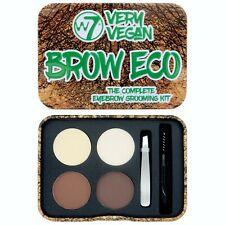 W7 Very Vegan Brow Eco Brow Palette Kit - Eyebrow Powder Define Highlight