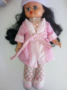 Vintage Made in Italy soft plastic doll