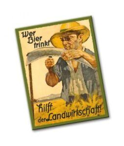 "Kultmagnet: ""Wer Bier trinkt, hilft der Landwirtschaft""  (NEU & OVP)"