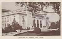 (T)   Washington, DC - Pan American Union Building - Front Exterior - Approach
