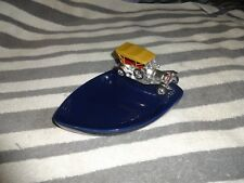 Lesney Matchbox ashtray Thomas Flyabout  chrome  excellent