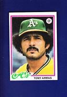 Tony Armas 1978 TOPPS Baseball #298 (NM) Oakland Athletics