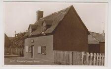 Bedfordshire postcard - Bunyan's Cottage, Elstow - RP - P/U