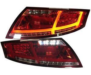 LED Rückleuchten AUDI TT TTS 8J rot LED Heckleuchten LINKS RECHTS Rücklichter