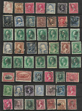 Collection 19th Century Banknotes Bureaus Sc #65 216 221 226 227 295 etc US B90