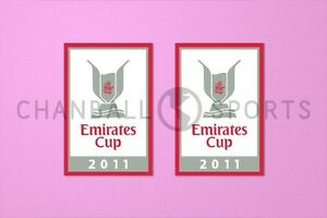 Arsenal Emirates Cup 2011 Sleeve Soccer Patch / Badge