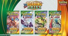 Pokemon XY Roaring Skies 4 Booster Packs - All 4 Types - Brand New And Sealed!