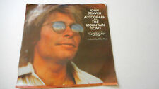 JOHN DENVER, Autograph / The Mountain Song USA Picture Sleeve 45 1980