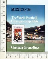 36746) Grenada Grenadines 1986 MNH Wc Football