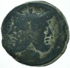 EARLY ROMAN REPUBLIC / 179BC JANUS - GALLEY SHIP / ANCIENT ROMAN COIN
