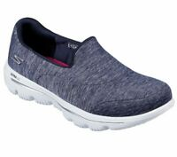 Skechers Shoe Navy GoWalk Evolution Ultra Women Comfort Casual Slipon Soft 15733