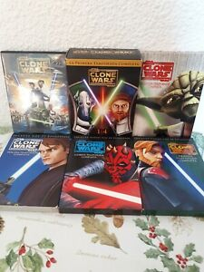 Pack Star Wars The Clone Wars Pelicula + Temporadas 1, 2, 3, 4, 5 DVD