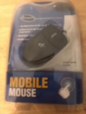 New I Concepts Mobil Horizontal Scroll E Mouse 4D Wheel Vertical Ps/2 Connector