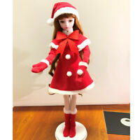 1/3 BJD Doll Clothes Christmas Suits Dress Outfits For Night Lolita BJD Doll