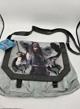 Pirates of the Caribbean Tote Messenger Bag Purse Johnny Depp Hot Topic Bag NWT
