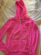 Women's Pink Victoria Secret Sz S hoodie sweat jacket nwt