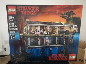 Lego Stranger Things Upside Down 75810 Brand New & Sealed