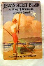 Jenny's Secret Island Vtg Book, Story by Phillis Garrard, First Edition 1943