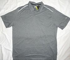 NEW! NIKE Golf Tour Performance Polo Shirt Mens 2X 2XL XXL Gray/Black NWT!