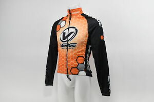 Verge Men's 2XL Cycling Wind Jacket Orange New