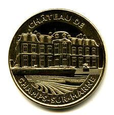 77 CHAMPS-SUR-MARNE Château, 2020, Monnaie de Paris