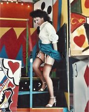 Org Amateur Semi Nude Large (8 x 10) Photo- Funhouse Fun- Skirt- Stockings- #4