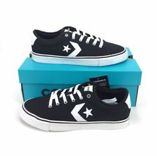 NEW Converse All Star Replay Ox Shoes Sneakers Low Black White Mens Size 11 NIB