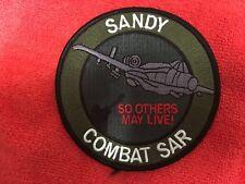 USAF SANDY COMBAT SAR A-10 PATCH