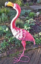 Metal Flamingo Garden Statue - Riverdale (TF60119)