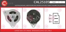 Alternatore CASCO CAL25105GS AUSTIN JAGUAR LAND ROVER MG MORRIS ROVER TRIUMPH TV