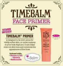 TIMEBALM Face Primer by The Balm! Wear Alone or Under Make-up