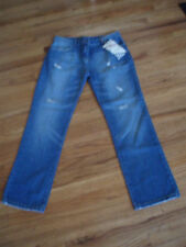 MODIVA FRAYED FRONT LOOK BOOT CUT  JEANS SIZE 11 NEW WITH TAGS